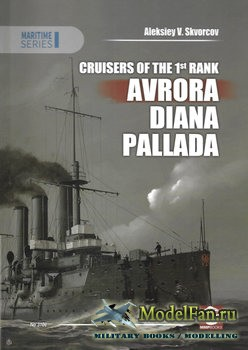Maritime Series 3106 - Cruisers of the 1st Rank Avrora, Diana, Pallada