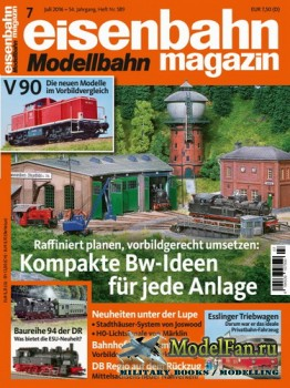 Eisenbahn Magazin 7/2016