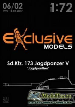 Exclusive Models 06/02 - Sd.Kfz. 173 Jagdpanzer V