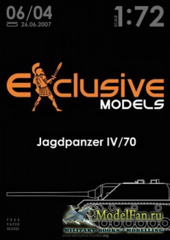 Exclusive Models 06/04 - Jagdpanzer IV/70