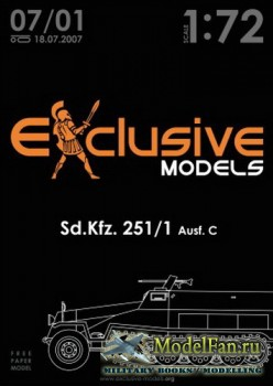 Exclusive Models 07/01 - Sd.Kfz. 251/1 Ausf.C