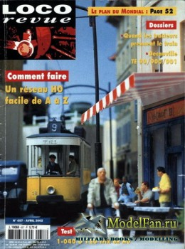Loco-Revue №657 (April 2002)
