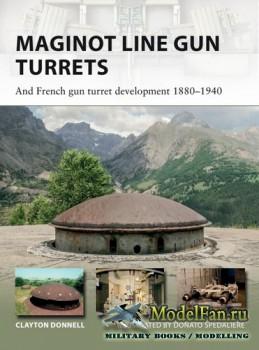 Osprey - New Vanguard 250 - Maginot Line Gun Turrets: And French gun turret ...