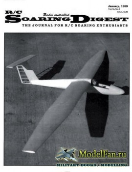 Radio Controlled Soaring Digest Vol.16 No.1 (January 1999)