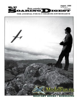 Radio Controlled Soaring Digest Vol.16 No.8 (August 1999)
