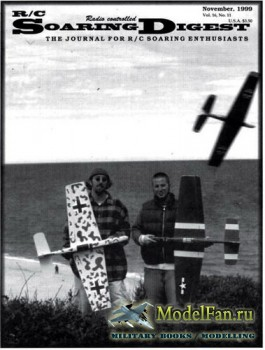 Radio Controlled Soaring Digest Vol.16 No.11 (November 1999)