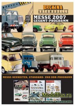 Brekina Automodelle за 2007 год