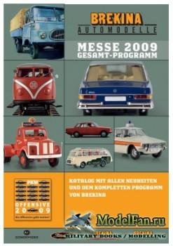 Brekina Automodelle за 2009 год