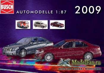 Busch - Automodelle 1:87 за 2009 год