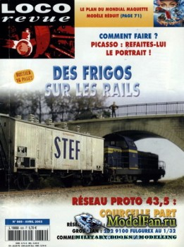 Loco-Revue №669 (April 2003)