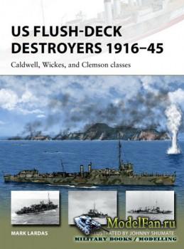 Osprey - New Vanguard 259 - US Flush-Deck Destroyers 1916–1945: Caldwell, W ...