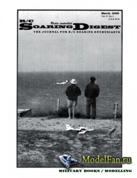 Radio Controlled Soaring Digest Vol.17 No.3 (March 2000)