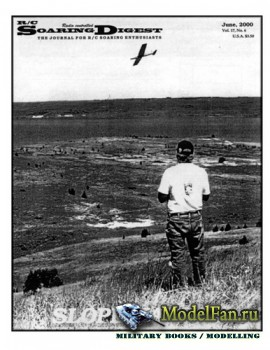 Radio Controlled Soaring Digest Vol.17 No.6 (June 2000)