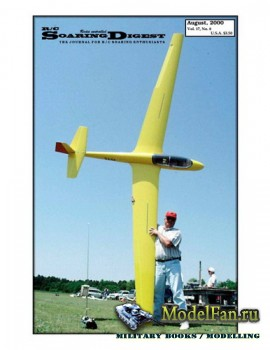 Radio Controlled Soaring Digest Vol.17 No.8 (August 2000)