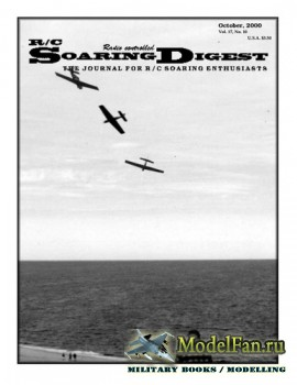 Radio Controlled Soaring Digest Vol.17 No.10 (October 2000)